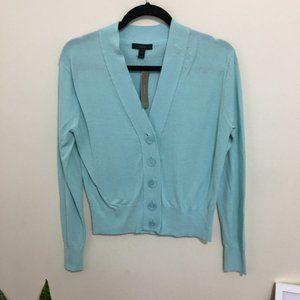 J. CREW Cropped lightweight cardigan sweater AM10